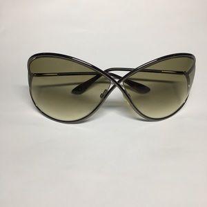 Tom Ford Miranda Dark Bronze Sunglasses